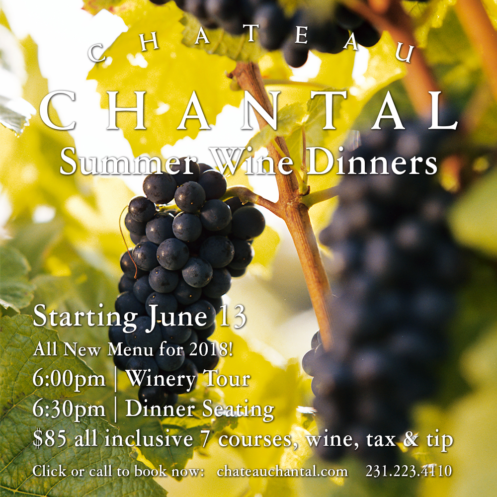 Chateau Chantal Event Calendar